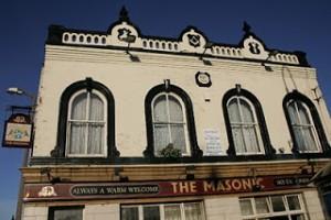 The Masonic pub in Runcorn