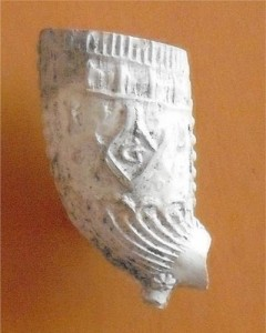 Masonic clay pipe