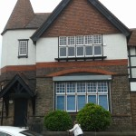The Village Hall, Knotty Ash, where the lodge first met in 1938