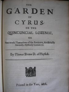 Title-page_of_'The_Garden_of_Cyrus'_1658_first_edition