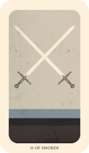 II of swords