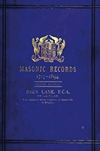 John Lane's Masonic Records